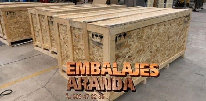 Embalaje madera Jumilla Murcia