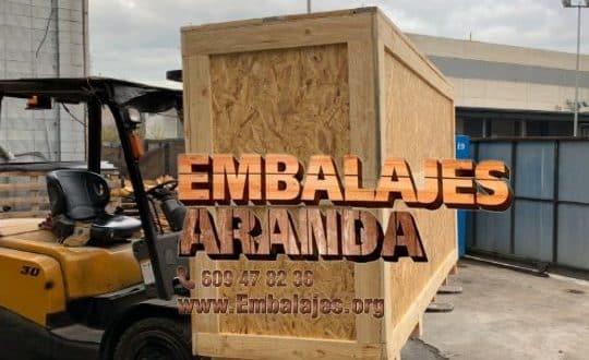 Embalaje madera La Bisbal d'Empordà Girona