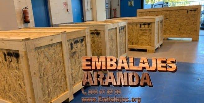 Embalaje madera La Campana Sevilla