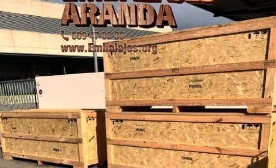 Embalaje madera La Carlota Córdoba
