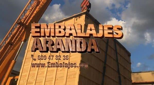 Embalaje madera La Font d'En Carròs València