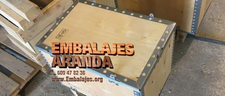 Embalaje madera La Línea de la Concepción Cádiz