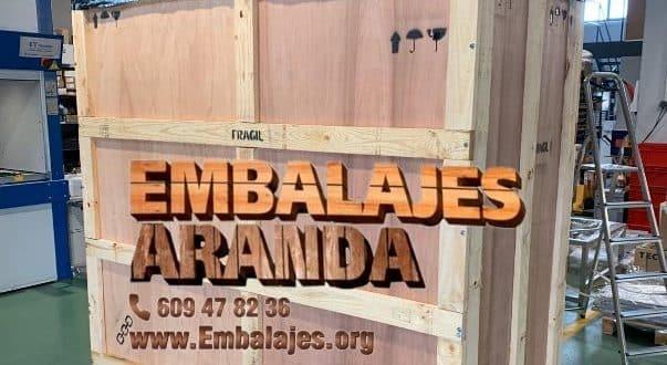 Embalaje madera La Llagosta Barcelona