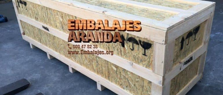Embalaje madera La Oliva Sevilla