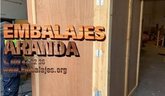 Embalaje madera La Orotava Santa Cruz de Tenerife