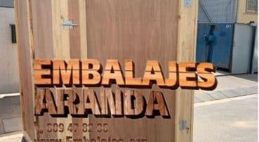 Embalaje madera La Palma del Condado Huelva